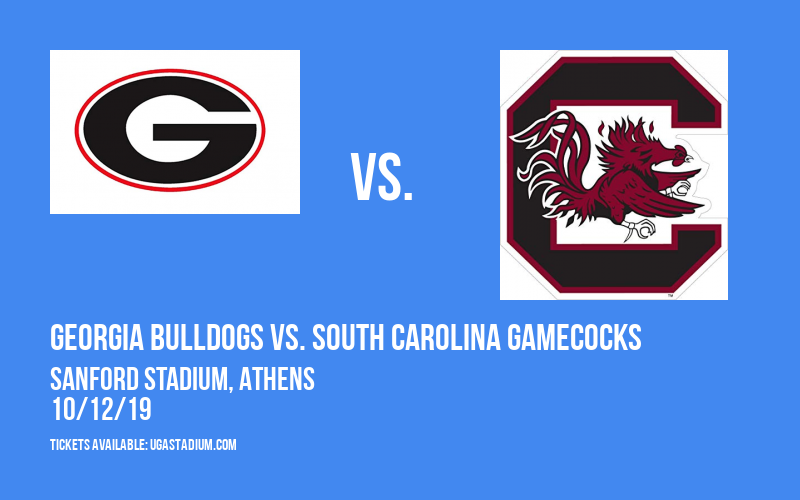 Georgia Bulldogs vs. South Carolina Gamecocks at Sanford Stadium