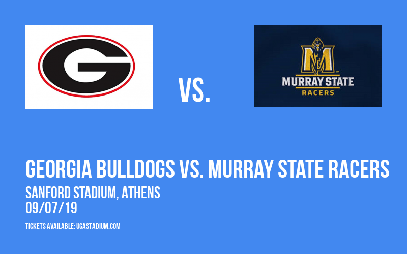 Georgia Bulldogs vs. Murray State Racers at Sanford Stadium