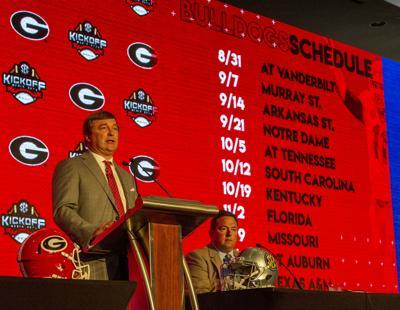 Georgia Bulldogs vs. East Tennessee State Buccaneers at Sanford Stadium