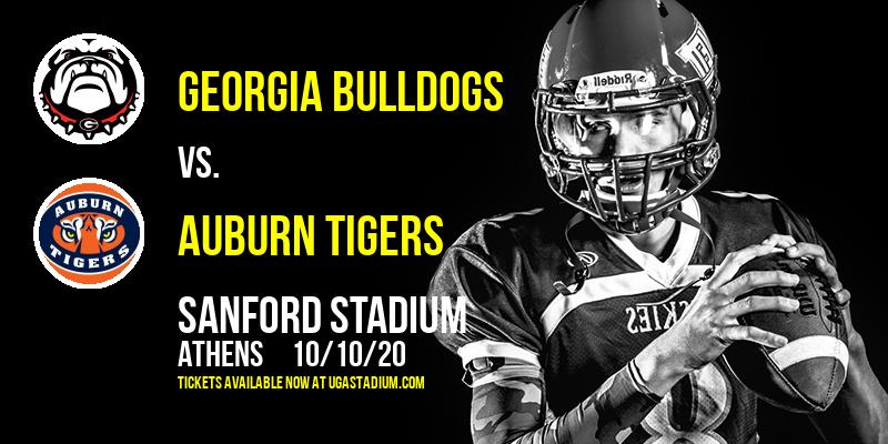 Georgia Bulldogs vs. Auburn Tigers at Sanford Stadium