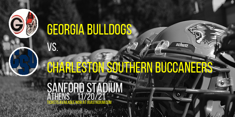 Georgia Bulldogs vs. Charleston Southern Buccaneers at Sanford Stadium