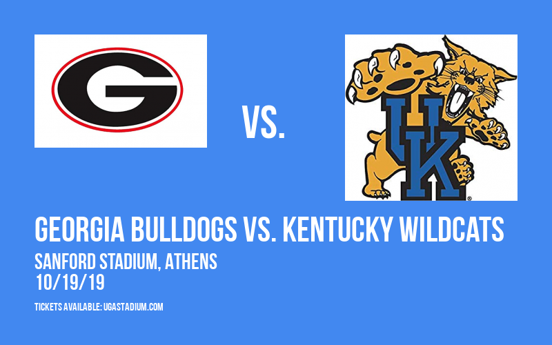 Georgia Bulldogs vs. Kentucky Wildcats at Sanford Stadium