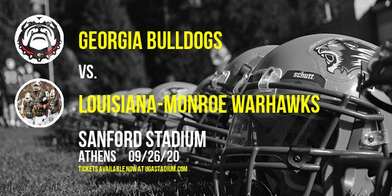 Georgia Bulldogs vs. Louisiana-Monroe Warhawks at Sanford Stadium
