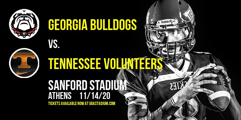 Georgia Bulldogs vs. Tennessee Volunteers at Sanford Stadium