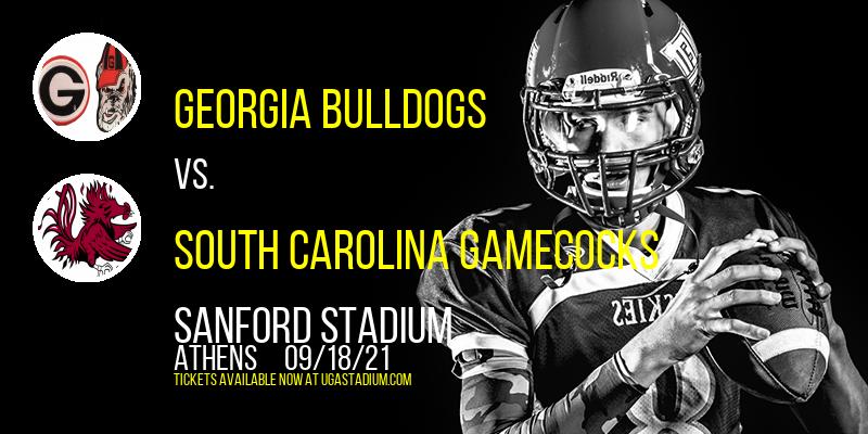 Georgia Bulldogs vs. South Carolina Gamecocks at Sanford Stadium
