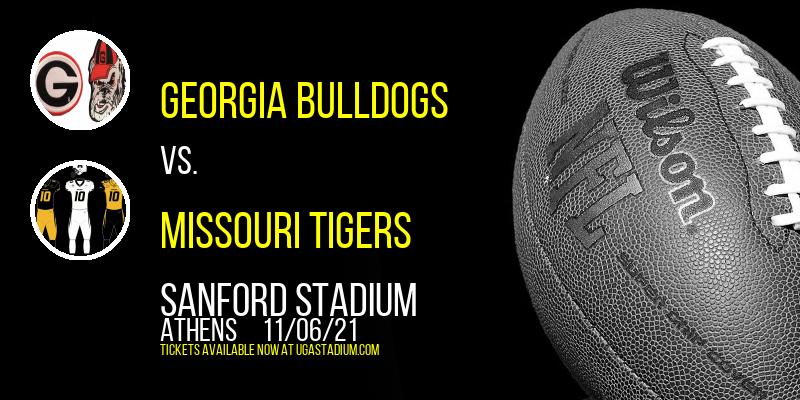 Georgia Bulldogs vs. Missouri Tigers at Sanford Stadium