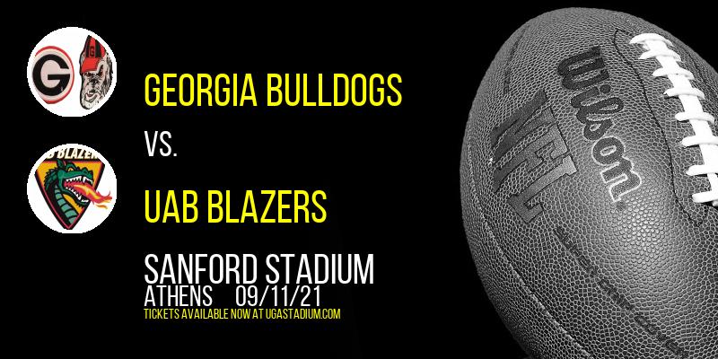 Georgia Bulldogs vs. UAB Blazers at Sanford Stadium